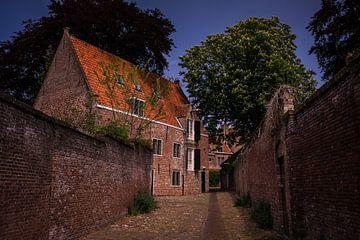 Altes Stadtbild von Middelburg von Michel Knikker