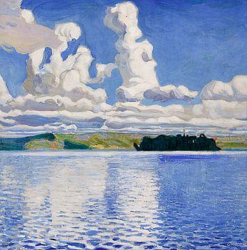 Wolkentürme, Akseli Gallen-Kallela