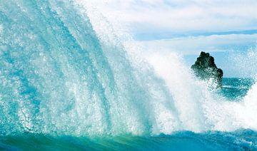 Muur van water. von Hennnie Keeris