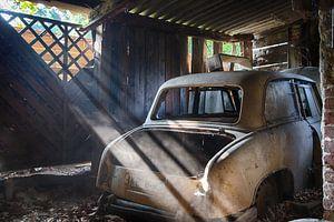 Achtergebleven auto