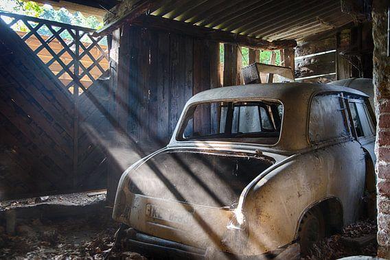 Achtergebleven auto van Roetenberg Rick