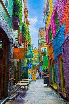 London, Neals Yard van Nynke Altenburg