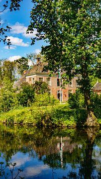 Landgut Allersmaborg in der Nähe des Groninger Dorfes Ezinge von Visiting The Dutch Countryside