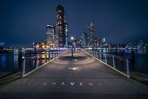 Rijnhavenbrug ( Hoerenlopertje) Katendrecht, Rotterdam