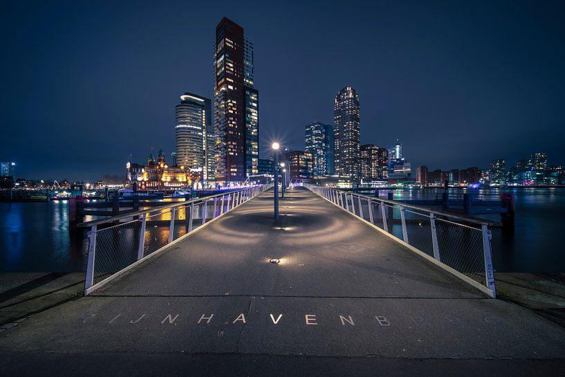 Rijnhaven-Brücke ( Hornswoggle) Katendrecht, Rotterdam von Anton Osinga