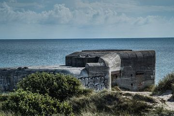 De bunkers bij Skagen Denemarken van Tina Linssen