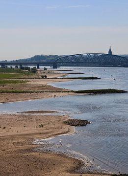 Uitzicht op de Waal, Nijmegen von Julia Wezenaar