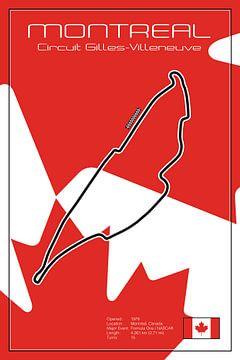 Racetrack Montreal van Theodor Decker
