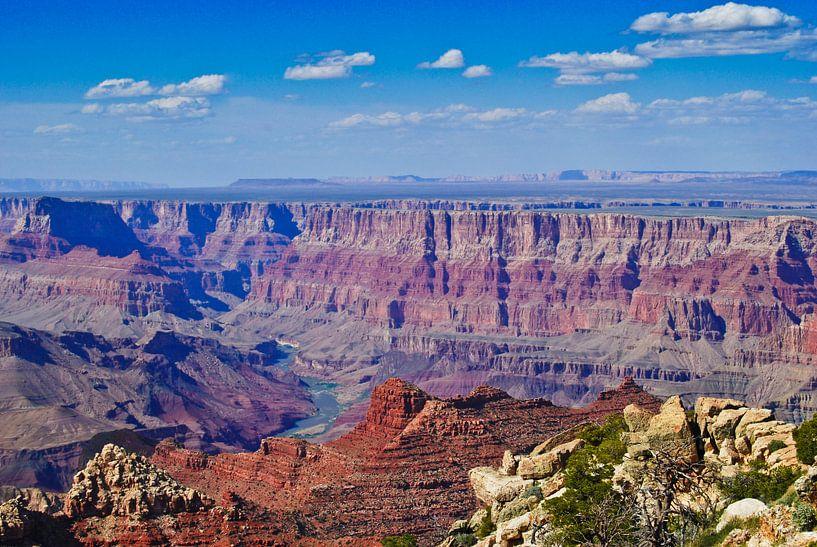Grand Canyon East Rim van Ricardo Bouman | Fotografie