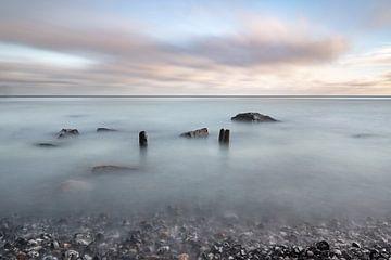Zijdezachte zee van Salke Hartung