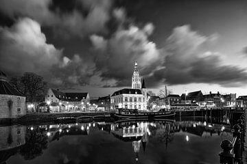 Stadsgezicht van Breda van Rob van Esch