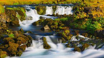 Wasserfälle bei Kirkjubaejarklaustur, Island von Henk Meijer Photography