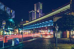 Berlin – City West / Bahnbrücke Kantstrasse von