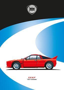 Lancia 037 Stradala van Martino Romijn