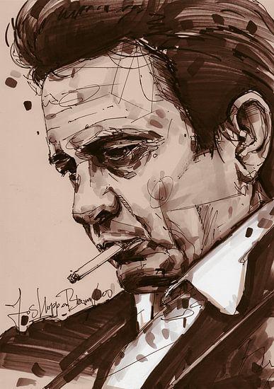 Johnny Cash kunst