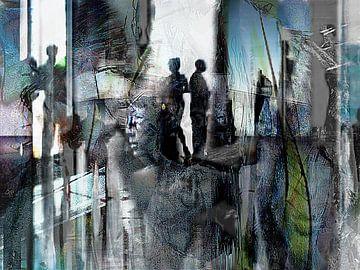 The chaotic century, part 1 van Kirsti's Kunst
