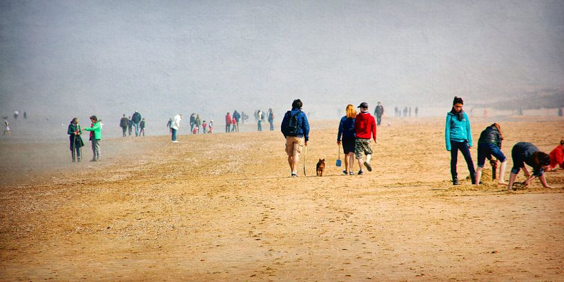 strandwandelen van Yvonne Blokland