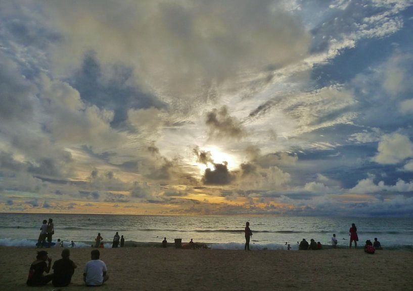 Kutabeach, Bali van Lex Boon