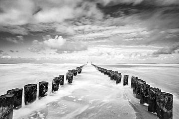 Sturmbrecher Strand Domburg Zeeland von Midi010 Fotografie
