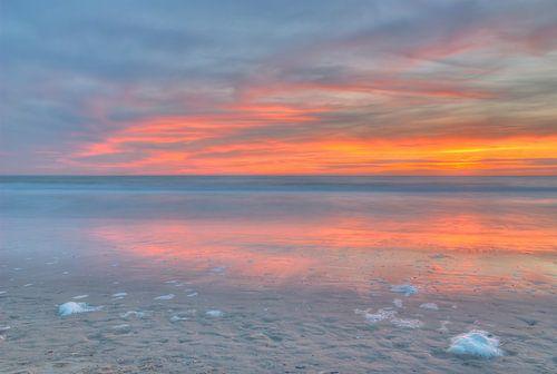 Stilte op het strand van