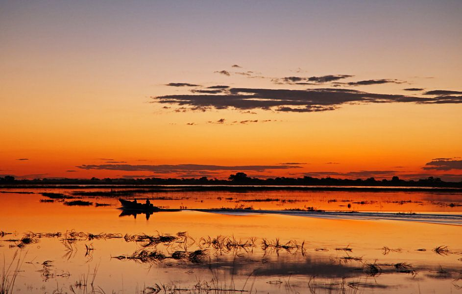 Evening at Chobe River, Botswana