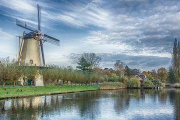 Molen de Zandweg Rotterdam van Pieter van Roijen