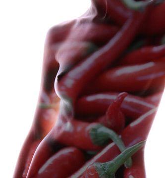 Hot peper van Fabio Manzione