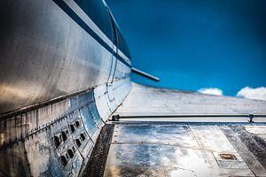 Tupolev TU-144, lucht met wolken van