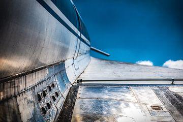 Tupolev TU-144, lucht met wolken