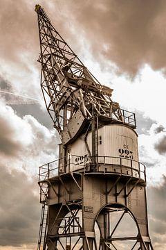 golden harbor crane sur Koen Ceusters
