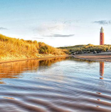 Texel-Leuchtturm von Inge Kampen