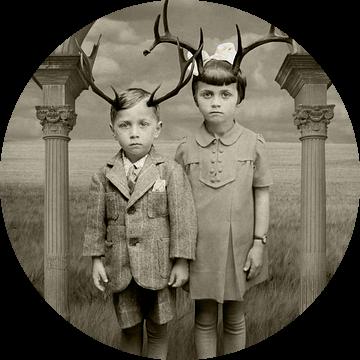From The Book With Family Portraits van Marja van den Hurk