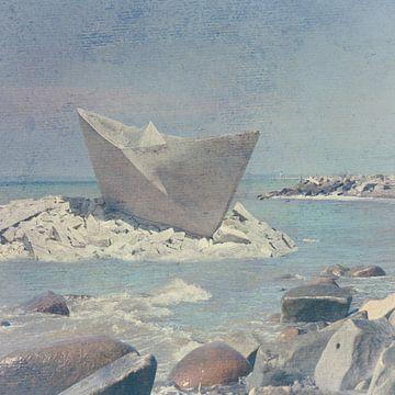 Het stenen bootje van Patrick Reinquin