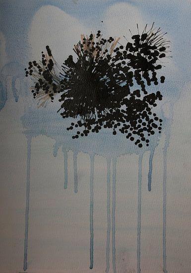 Drips: bloemen in transparante vaas