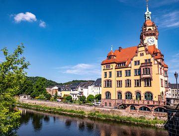 Rathaus von Waldheim in Sachsen von Animaflora PicsStock