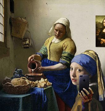 De parel: Studie van een opvallend gezicht van Jerome Coppo