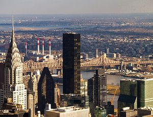 Chrysler Building, Queensboro Bridge, New York City