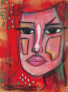 Modern portret van Jolanda Janzen-Dekker