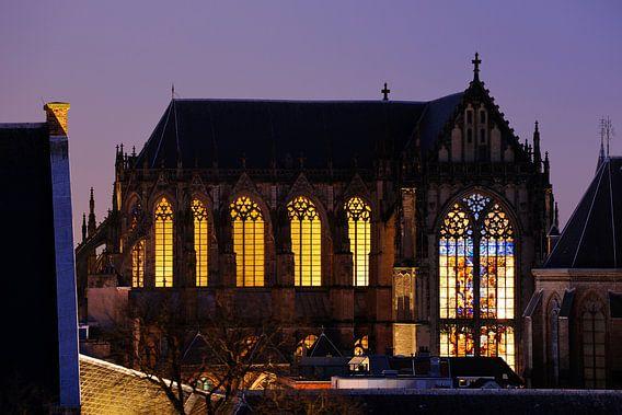 Domkerk in Utrecht  van Donker Utrecht