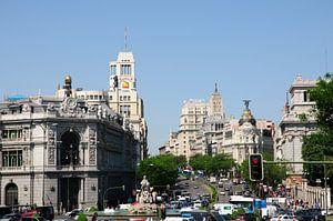 Calle de Alcalá in Madrid