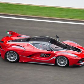 Ferrari FXX K op Circuit Spa Francorchamps van Tim Vlielander