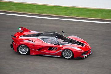 Ferrari FXX K op Circuit Spa Francorchamps van
