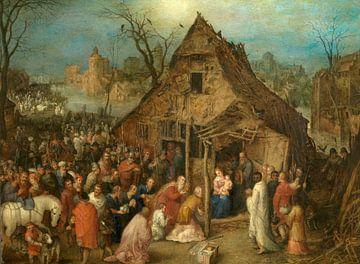 Anbetung durch die Könige, Jan Brueghel der Ältere