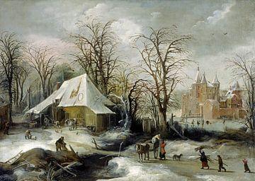 Winterlandschaft, Joos de Momper