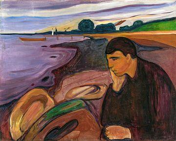 Edvard Munch, Melancholie, 1896