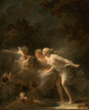 De fontein van de liefde, Jean-Honoré Fragonard