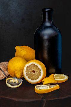 Zitronenstilleben von zippora wiese