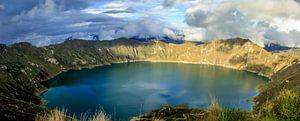 Lake Quilotoa van Niels  Claassen
