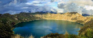 Lake Quilotoa van