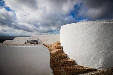 Witte dorpen in Andalusie (Arcos de la Frontera, Spanje) von Blijvanreizen.nl Webshop